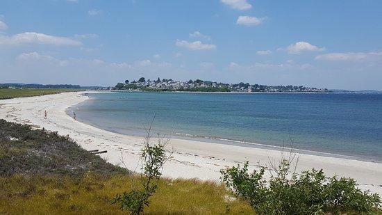 Beach Near Castle Hill On The Crane Estate