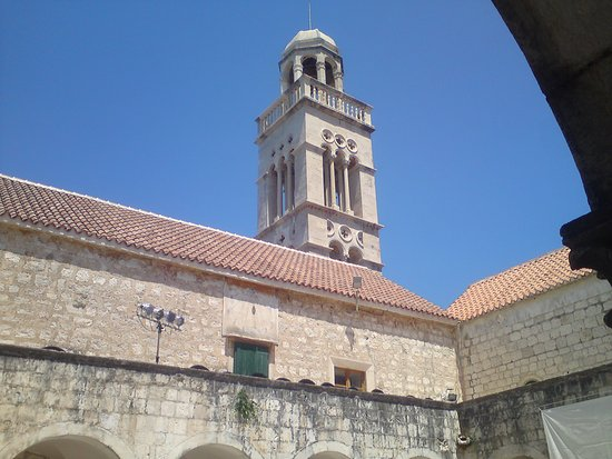 Franciscan Monastery: From the Cloister.