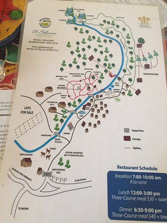 El Silencio Lodge & Spa: Property Map