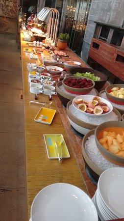 Park Hyatt Shanghai: Café da Manhã