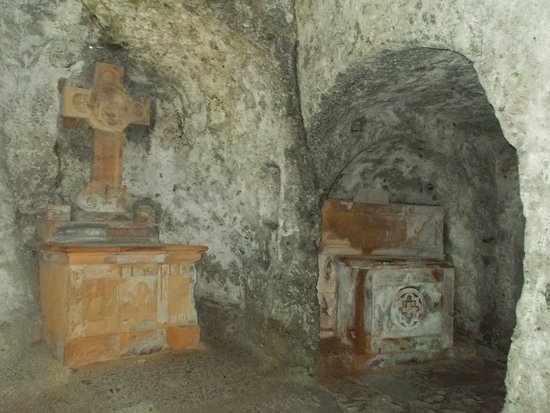 Stift St. Peter: le catacombe