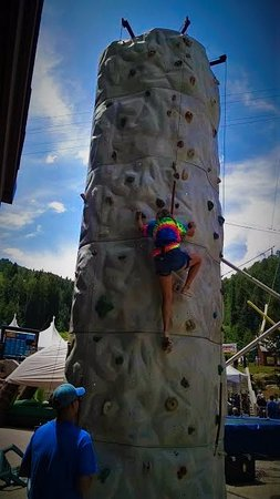 "Purgatory Village Condo Hotel: ""Total Adventure Ticket"" climbing wall"
