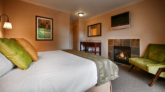 Best Western Wesley Inn & Suites: Fireplace Deluxe Suite