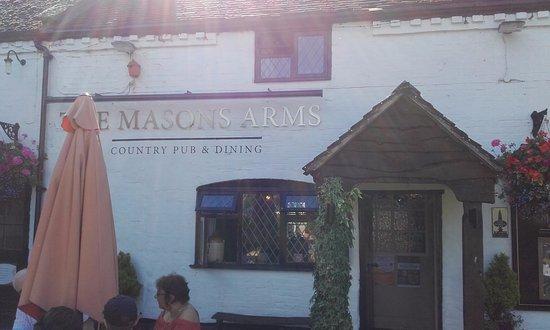 The Mason's Arms: Top Notch Pub