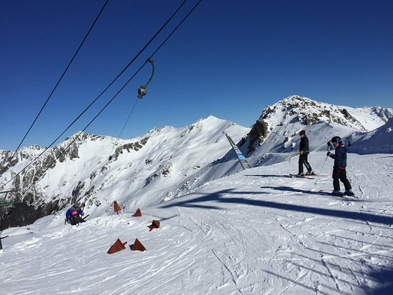 Saint Arnaud, Nueva Zelanda: Top of T-bar