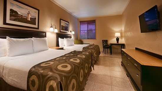 Best Western Wesley Inn & Suites: Double Queens Room