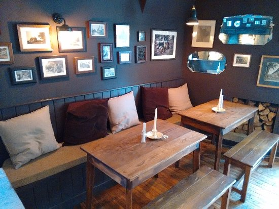 Ebrington, UK: Cool decor