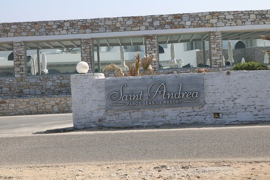 Saint Andrea Seaside Resort: Exterior Entrance