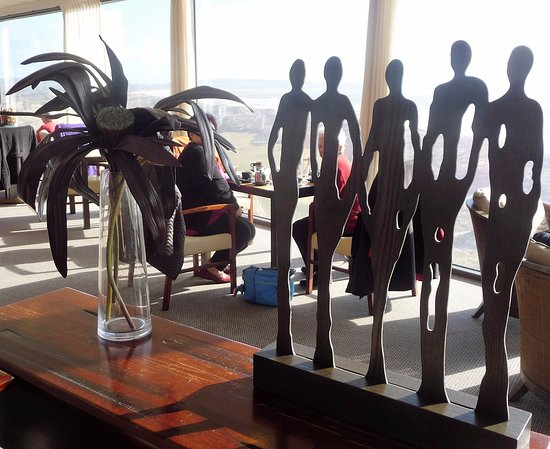 Bridport, ออสเตรเลีย: inside the restaurant