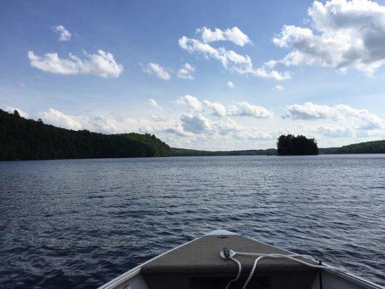 Picture Of Ogopogo Resort On Mountain Lake