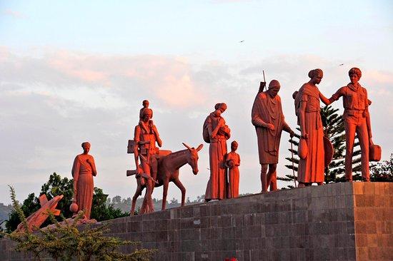 Mek'ele, Ethiopië: monument 4