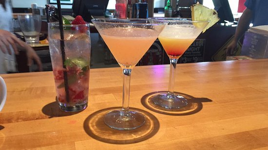 The Rock Bar and Grill: $4 martinis on Saturdays