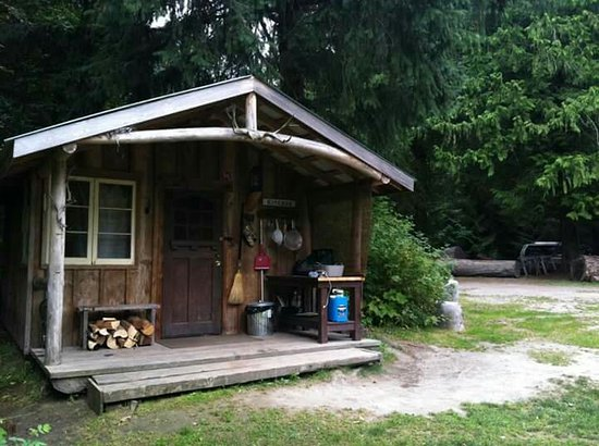 Hagensborg, Канада: Rip Rap Campsite