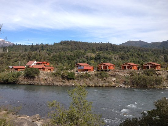 Maule Region, Chile: Three new cabanas.