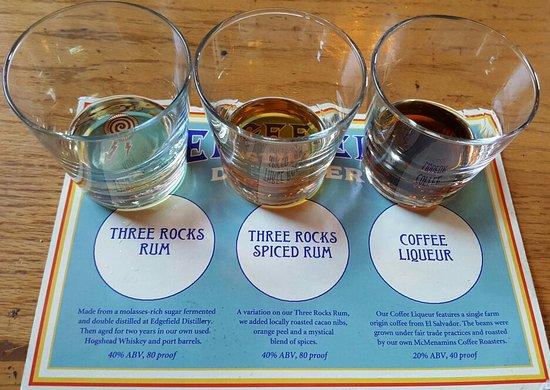 Roseburg, OR: Rum Sampler