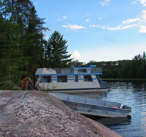 Crane Lake, MN: Leach Bay...one of our favorite campsites within Voyageurs National Park