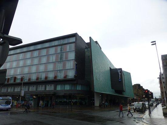 Radisson Blu Hotel, Glasgow: hotel