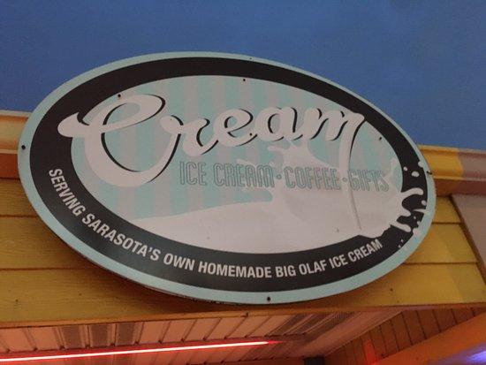 Island cream bradenton beach restaurant reviews phone for Enseigne exterieur