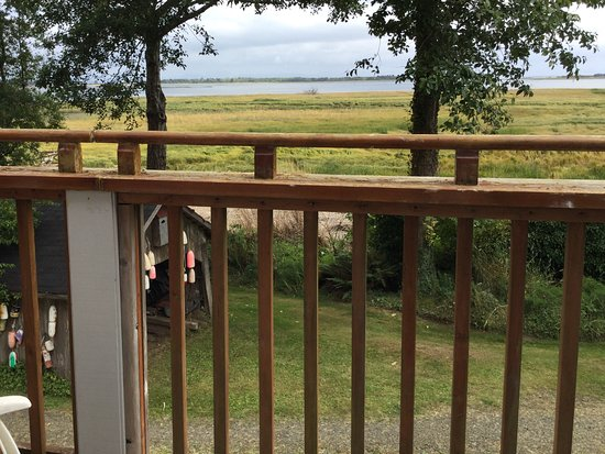 China Beach Retreat: View from upper balcony