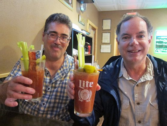 Osakis, MN: Great Bloody Mary drinks with serious garnishes
