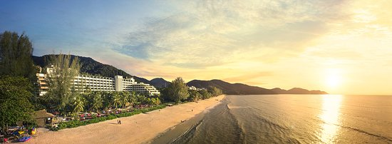 PARKROYAL Penang Resort, Malaysia: Amazing sunset view from PARKROYAL Penang Resort