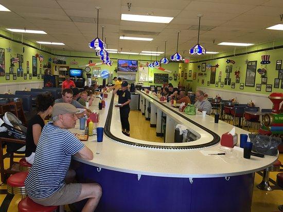 All Aboard Diner: Inside the diner