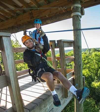 ‪Brainerd Zip Line Tour‬