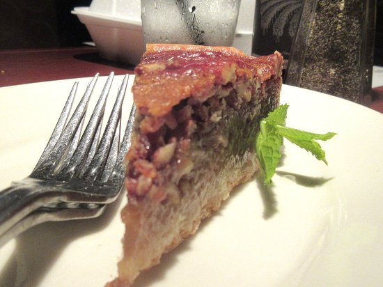Black Angus Steakhouse - Milpitas: Bourbon Pecan Pie, Black Angus Steakhouse, Milpitas, CA