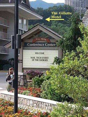 Gillette Motel: It's super close to the Gatlinburg Convention Center!