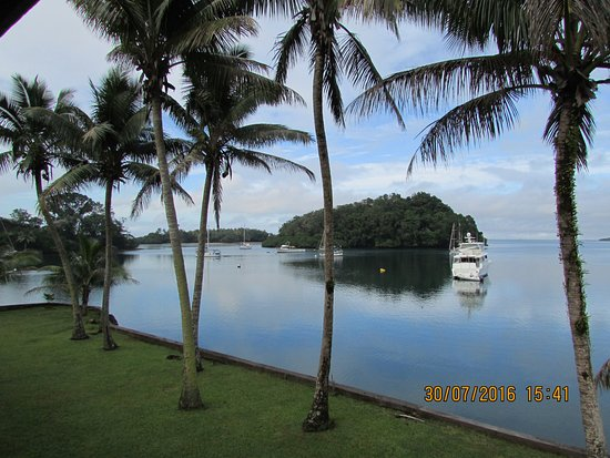 Lami, Fiji: Most (possibly all) rooms look out on this view.