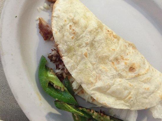 Van Buren, MO: Carnitas taco