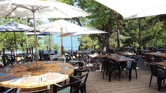 La paillote du lac le sauze du lac restaurant avis - Restaurant cote jardin lac 2 ...