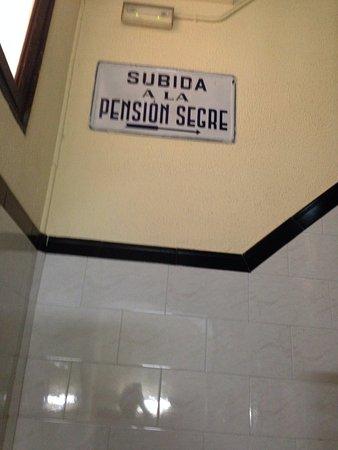 Pension Segre: salendo le scale