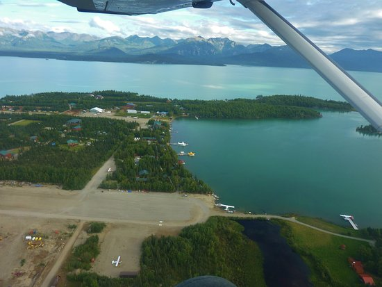 Port Alsworth Alaska Map.View Of Port Alsworth And The Harbor And Lake Clark Picture Of The