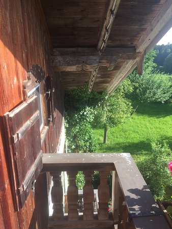 Gut Sonnenhausen: attic balcony