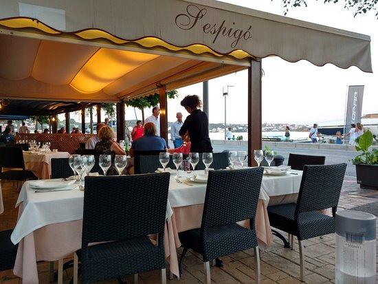 Restaurante S'espigo: Terraza de S'espigó