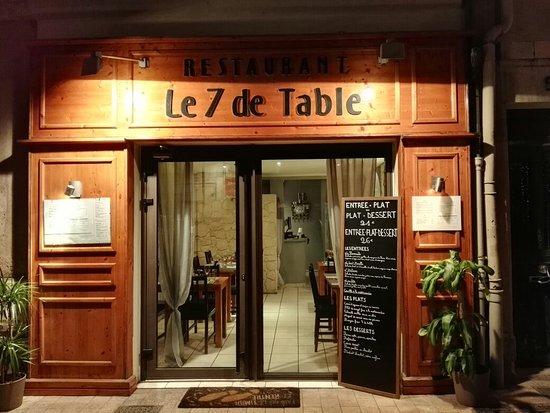 le 7 de table - picture of le 7 de table, avignon - tripadvisor