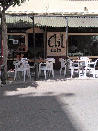 Chill Cafe: terraza