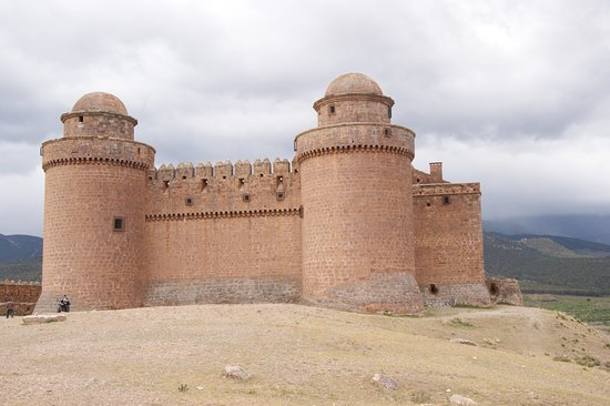 La Calahorra, İspanya: The front of the castle