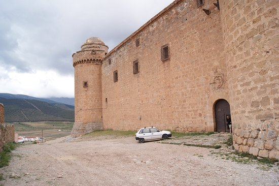 La Calahorra, İspanya: Entrance to the castle for the tour