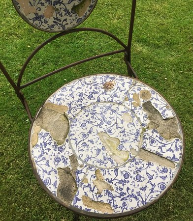 Yorkshire, UK: Garden furniture 1