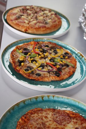 delice pizza pasta various type of delicious pizza