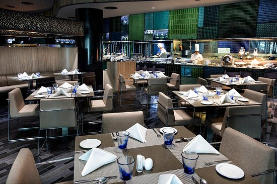 Crowne Plaza Changi Airport: Azur Restaurant
