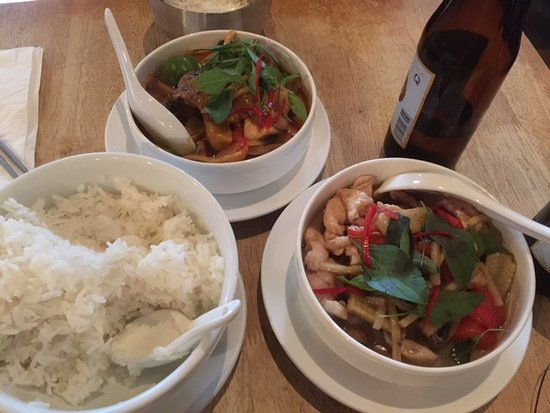 The Green Papaya : Meal for two persons...delicious
