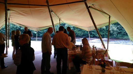 Canonbie, UK: Tipi Event