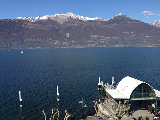 Hotel Risi: View from the window of the room in the morning