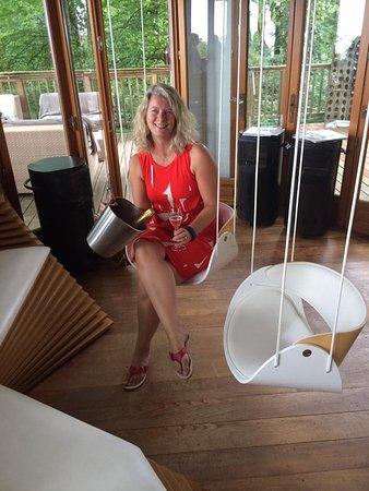 Verzy, ฝรั่งเศส: cool chairs