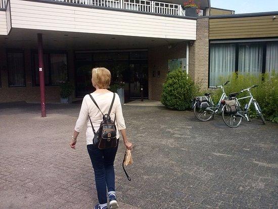 Wapenveld, Países Bajos: Entree van het hotel.