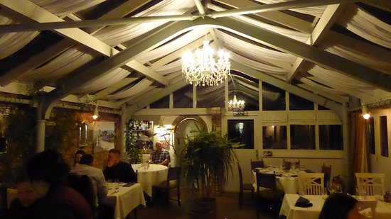 The Old Bakery Restaurant: the conservatory
