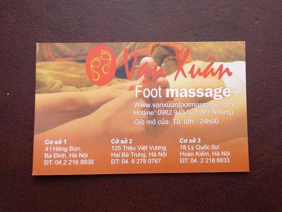 xuan foot massage